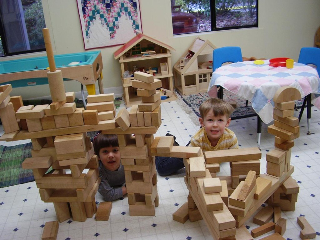 Blocks and Pretend Play