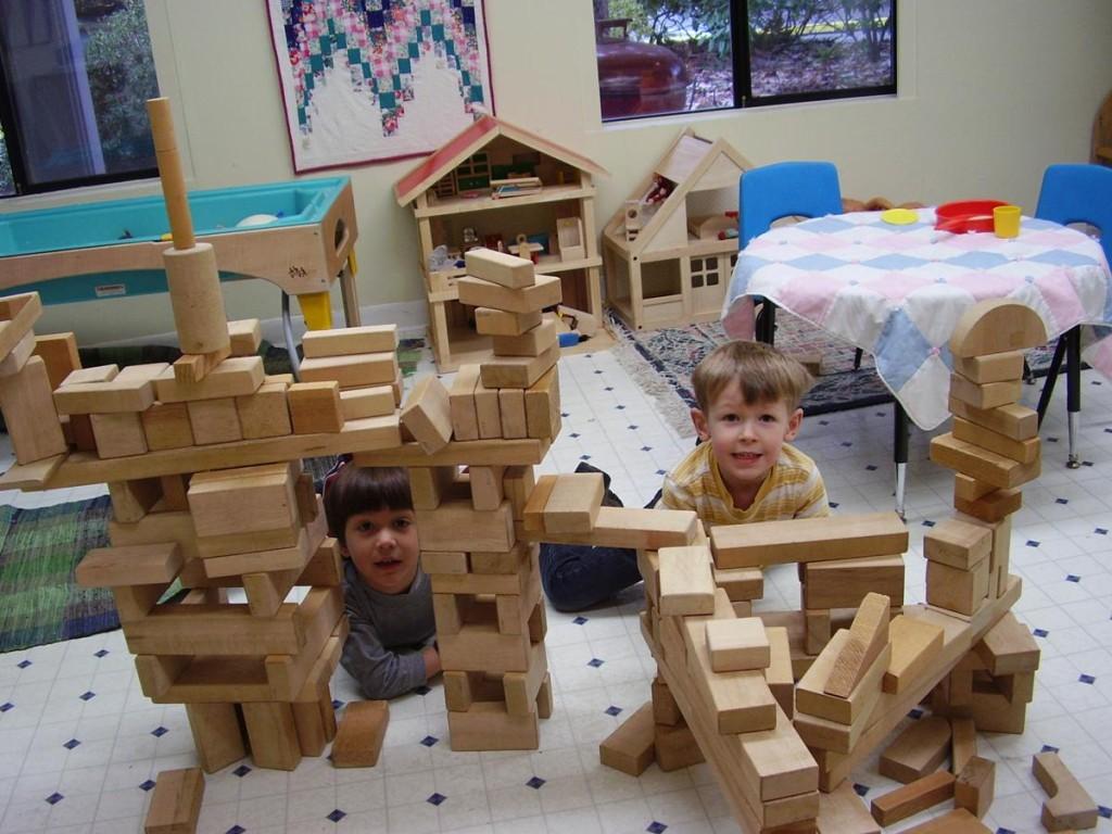Blocks and Pretend Play