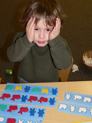 Sorting, sequencing, matching, and counting are pre-math skills.